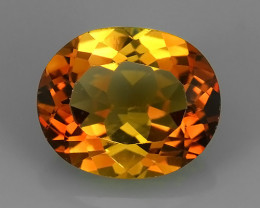 5.85 CTS SUPERIOR! CHAMPION TOPAZ GENUINE OVAL