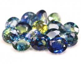 Sapphire 5.33Ct Natural Madagascar Parti Color Sapphire Lot B1804