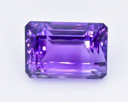 25.01 Crt Natural Amethyst Faceted GemstoneTop Grade