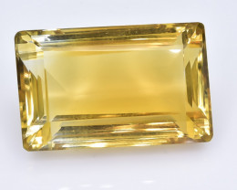 71.10 Crt Natural Madeira Citrin Facetted Gemstone