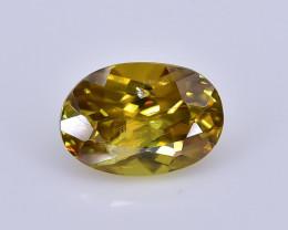 0.92 Crt Natural Malayate Sphene Faceted Gemstone.( AB 01)