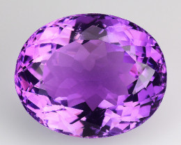 9.87 Ct  Natural Amethyst Top Quality Gemstone. AT 23