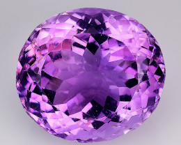 13.39 Ct  Natural Amethyst Top Quality Gemstone. AT 26