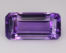 8.15 Ct  Natural Amethyst Top Quality Gemstone. AT 28