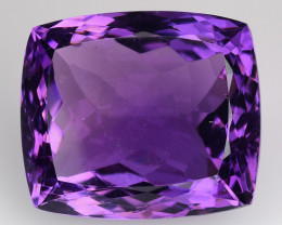 20.76 Ct  Natural Amethyst Top Quality Gemstone. AT 34