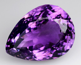 Black Friday. 18.02 Ct  Natural Amethyst Top Quality Gemstone. AT 35
