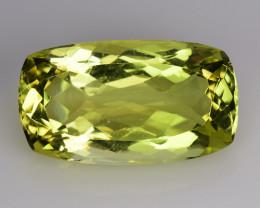 14.08 Ct Natural Lemon Quartz Top Cutting Top Quality Gemstone. LQ 27