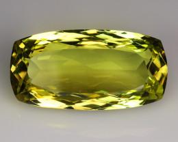 15.37 Ct Natural Lemon Quartz Top Cutting Top Quality Gemstone. LQ 30