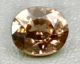 1.74 Ct Natural Zircon With Good Luster Gemstone Z6