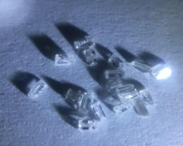 0.08 ct 18 x g/h/I I3 pique baguette diamonds