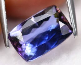 2.70Ct Greenish Violet Blue Natural Tanzanite Pear Cut Lot LZ3484