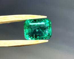 3.76 ct High Grade Emerald from Muzo Mine Colombia