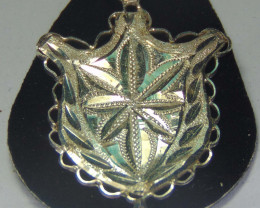 pendent ~ 999 silver faceted  designs 23.85 cts