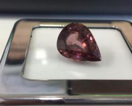 15.60 Carat Very Rare Earth Mined Pink Natural Zircon Gemstone