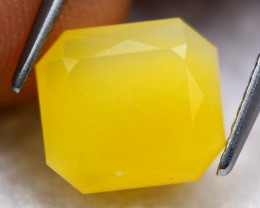 Fire Opal 2.59Ct Natural Faceted Mexican Orange Fire Opal D2014