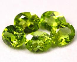 Peridot 11.14Ct Natural Green Peridot Parcel B2010