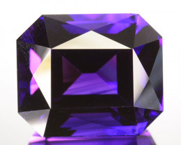 29.16 Cts Natural Purple Amethyst Fine cut Bolivia Gem
