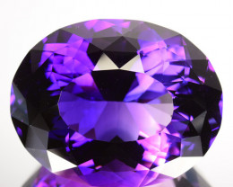 72.48 Cts Natural Purple Amethyst Fine cut  Gem
