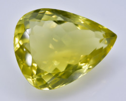 15.61 Crt Lemon Quartz Faceted Gemstone (Rk-61)