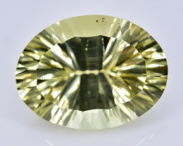 11.40 Crt Lemon Quartz  Faceted Gemstone (Rk-61)