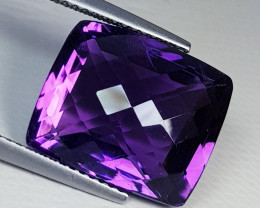 12.33ct Exclusive Gem Excellent Octagon Checker Cut Natural Ametysthyst