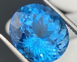 """""""NR""""27.45 Carats!!Exceptional Top Quality Natural Topaz Master Cut"""