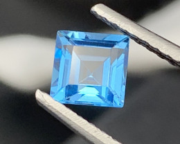 """NR"" 1.55 Carats!!Top Quality Natural Topaz Master Cut"