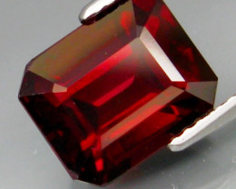 5.63  Ct. Natural Top Red Rhodolite Garnet Africa