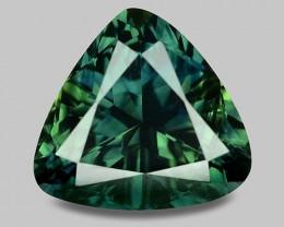Natural mid-dark parti-colour sapphire (PV auction ccwarren)