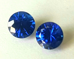 Royal Blue Sapphire 4mm