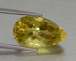 15 CT Beautiful Pear Cut Citrine Gemstone@ Brazil
