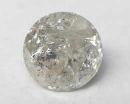 0.56 cts White Round brilliant diamond,Salt and pepper diamond