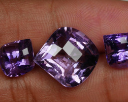 17.70 crt BEAUTY PAIR PURPLE AMETHYS-