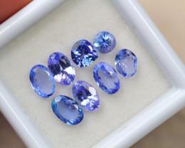 2.77ct Natural Violet Blue Tanzanite Mixed Cut Lot GW4846