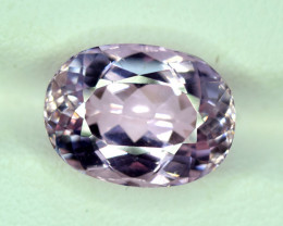 NR Auction 6.40 Carats Top Quality Pink Color Kunzite Gemstone