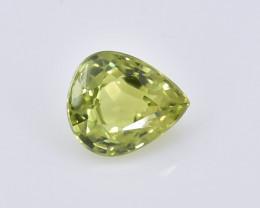 0.78 Crt Natural Chrysoberyl Faceted Gemstone.( AB 02)
