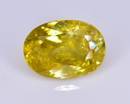 1.11 Crt Natural Malayate Sphene Faceted Gemstone.( AB 02)