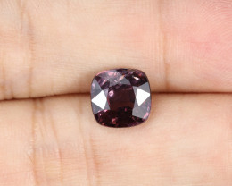 3.35ct Lab Certified Natural Purple Spinel