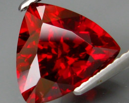 4.16 ct. 100%  Natural Top Red Rhodolite Garnet Africa