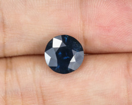 4.08ct Lab Certified Natrual Blue Sapphire