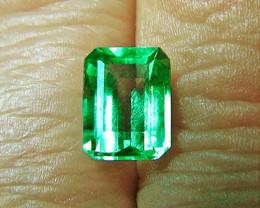 Top Of The Line!  2.03 ct Emerald Certified!