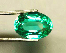 Top Of The Line!  1.69 ct Emerald Certified!