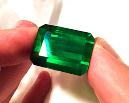 Top Stone! 2.14 ct Emerald Certified!