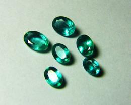 Top Stones! 5.44 tcw Natural Zambian Emeralds!