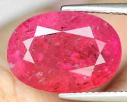 Bixbite 11.40 Cts IGI CERTIFIED Natural Pink Pezzottaite (Bixbite )