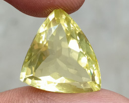 17.95 CT LEMON QUARTZ Top Quality Gemstone Natural Untreated VA3887