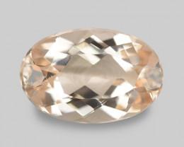 2.08 Cts Amazing Rare Natural Pink Color Morganite Gemstone