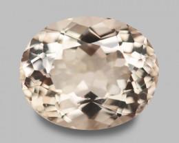 2.96 Cts Amazing Rare Natural Pink Color Morganite Gemstone