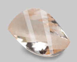 3.36 Cts Amazing Rare Natural Pink Color Morganite Gemstone