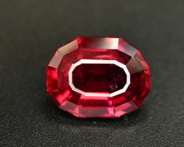 Top Color 3.45 Ct Natural Mahenge Garnet From Tanzania